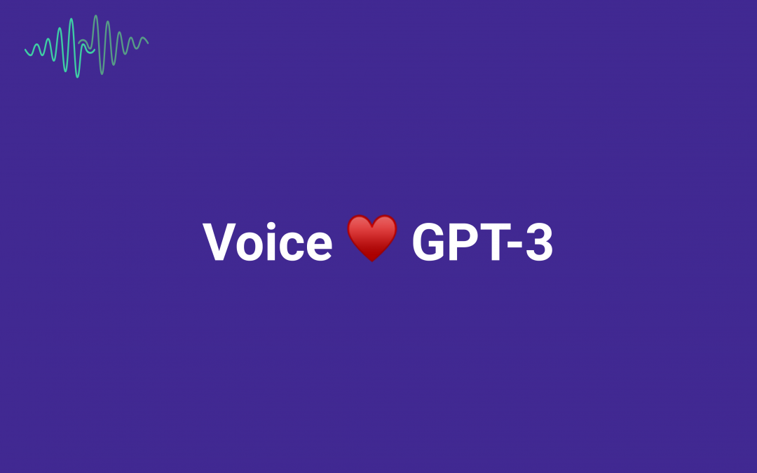 Giving GPT-3 a Voice with Speech Synthesis